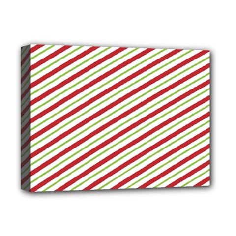 Stripes Striped Design Pattern Deluxe Canvas 16  X 12