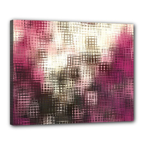 Stylized Rose Pattern Paper, Cream And Black Canvas 20  X 16  by Nexatart