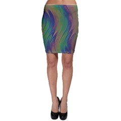 Texture Abstract Background Bodycon Skirt by Nexatart