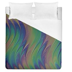 Texture Abstract Background Duvet Cover (queen Size) by Nexatart