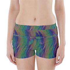 Texture Abstract Background Boyleg Bikini Wrap Bottoms by Nexatart
