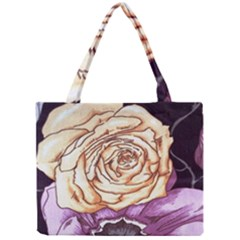 Texture Flower Pattern Fabric Design Mini Tote Bag
