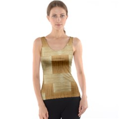 Texture Surface Beige Brown Tan Tank Top