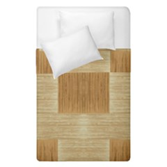 Texture Surface Beige Brown Tan Duvet Cover Double Side (single Size)