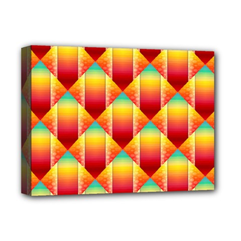 The Colors Of Summer Deluxe Canvas 16  X 12   by Nexatart
