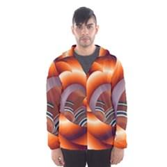 The Touch Digital Art Hooded Wind Breaker (men)