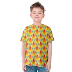 The Colors Of Summer Kids  Cotton Tee