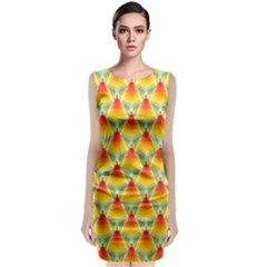The Colors Of Summer Classic Sleeveless Midi Dress