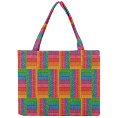Texture Surface Rainbow Festive Mini Tote Bag