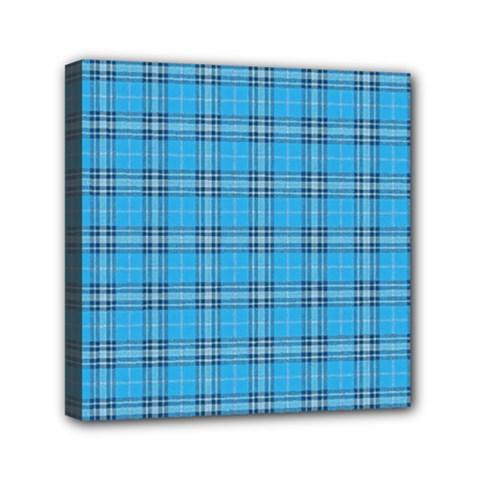 The Checkered Tablecloth Mini Canvas 6  X 6