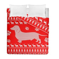 Ugly X Mas Design Duvet Cover Double Side (full/ Double Size)