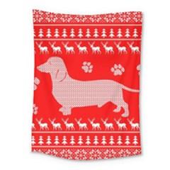 Ugly X Mas Design Medium Tapestry