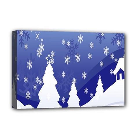 Vector Christmas Design Deluxe Canvas 18  X 12   by Nexatart