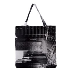 Urban Scene Street Road Busy Cars Grocery Tote Bag by Nexatart