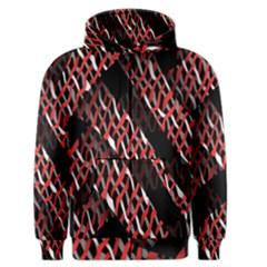 Weave And Knit Pattern Seamless Men s Zipper Hoodie