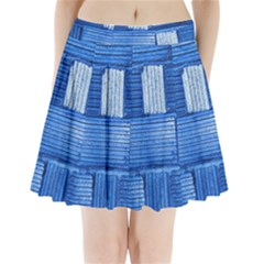 Wall Tile Design Texture Pattern Pleated Mini Skirt by Nexatart