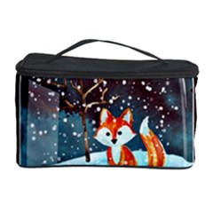 Winter Snow Ball Snow Cold Fun Cosmetic Storage Case by Nexatart