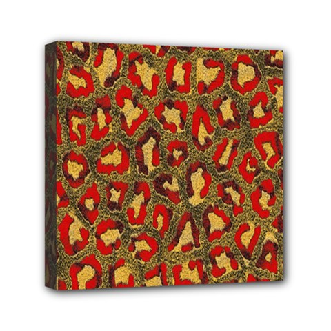 Stylized Background For Scrapbooking Or Other Mini Canvas 6  X 6  by Nexatart