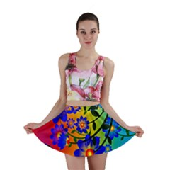 Abstract Background Backdrop Design Mini Skirt by Amaryn4rt
