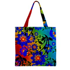 Abstract Background Backdrop Design Grocery Tote Bag