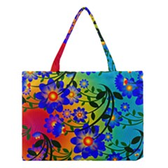 Abstract Background Backdrop Design Medium Tote Bag by Amaryn4rt