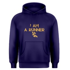 I am a runner - Men s Pullover Hoodie by FunnySaying