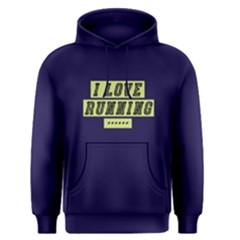 I Love Running   Men s Pullover Hoodie by FunnySaying