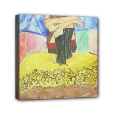 Artsy 1 Mini Canvas 6  X 6  by artsystorebytandeep