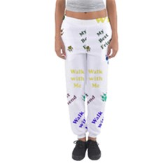 Animals Pets Dogs Paws Colorful Women s Jogger Sweatpants by Amaryn4rt