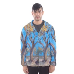 Turkeys Hooded Wind Breaker (men) by theunrulyartist