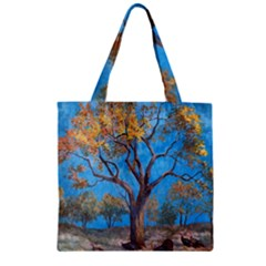 Turkeys Zipper Grocery Tote Bag by theunrulyartist