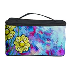 Backdrop Background Flowers Cosmetic Storage Case