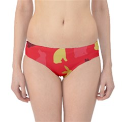 Hare Easter Pattern Animals Hipster Bikini Bottoms by Amaryn4rt