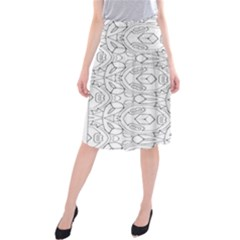 Pattern Silly Coloring Page Cool Midi Beach Skirt