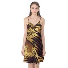 Pattern Tiger Stripes Print Animal Camis Nightgown