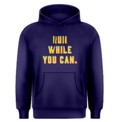 Run While You Can   Men s Pullover Hoodie by FunnySaying