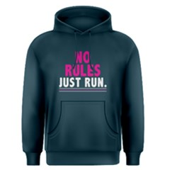 No rules just run - Men s Pullover Hoodie by FunnySaying