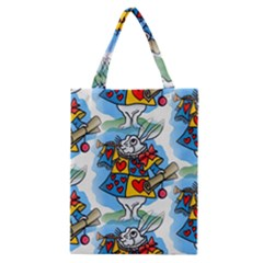 Seamless Repeating Tiling Tileable Classic Tote Bag