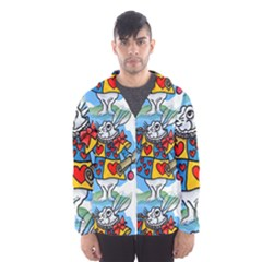 Seamless Repeating Tiling Tileable Hooded Wind Breaker (men) by Amaryn4rt