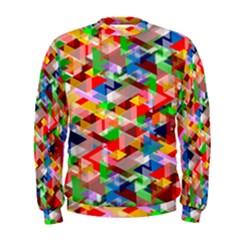Background Abstract Men s Sweatshirt