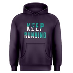 Keep Running   Men s Pullover Hoodie