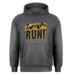 Zombies Run   Men s Pullover Hoodie by FunnySaying
