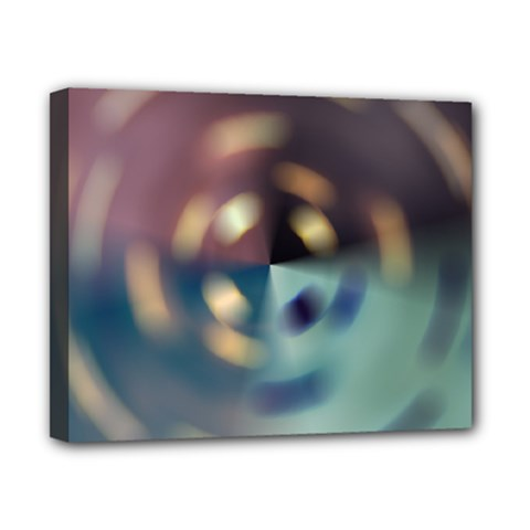 Blur Bokeh Colors Points Lights Canvas 10  X 8  by Amaryn4rt