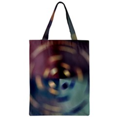 Blur Bokeh Colors Points Lights Zipper Classic Tote Bag by Amaryn4rt