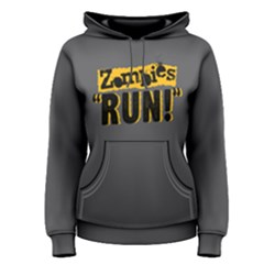 Zombies Run   Women s Pullover Hoodie by FunnySaying