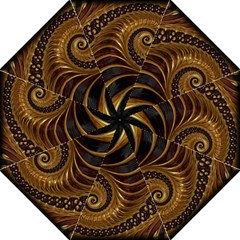 Fractal Spiral Endless Mathematics Golf Umbrellas by Amaryn4rt