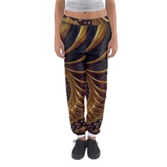 Fractal Spiral Endless Mathematics Women s Jogger Sweatpants by Amaryn4rt