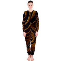 Fractal Spiral Endless Mathematics Onepiece Jumpsuit (ladies)