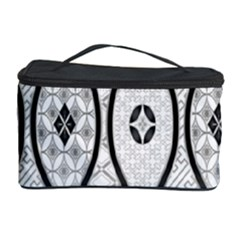 Public Domain Grey Star Cosmetic Storage Case