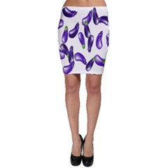 Vegetables Eggplant Purple Bodycon Skirt by Alisyart
